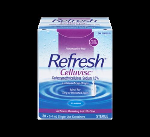 Allergan Refresh Celluvisc Severe Dry Eye Lubricant Eye Drops 30 x 0.4 mL -  RFH-1000-001