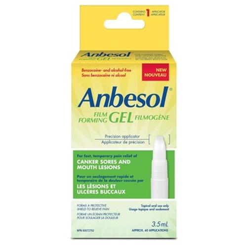 Anbesol Film Forming Gel 3.5 mL | 628791006393 | 168324