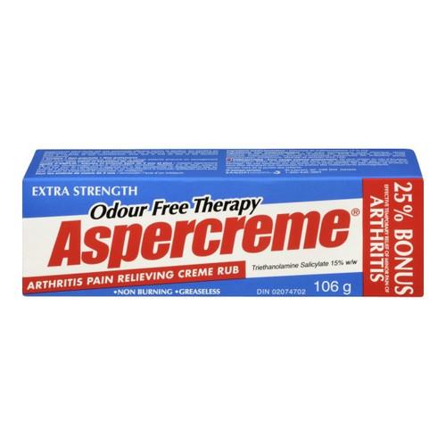 Aspercreme Extra Strength Arthritis Pain Relieving Creme 106g | 069260221129 | 131759