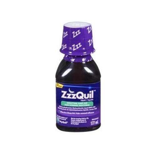 ZzzQuil Liquid Nighttime Sleep Aid - Berry - 177ml   02419769   056100076889