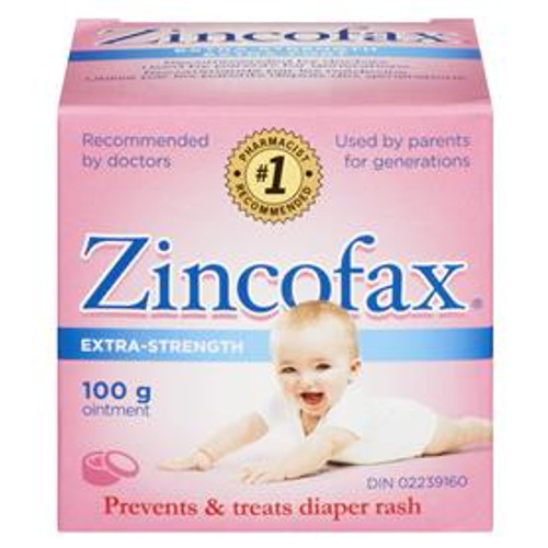 Zincofax 40% Extra Strength Ointment 100 grams   628791005136