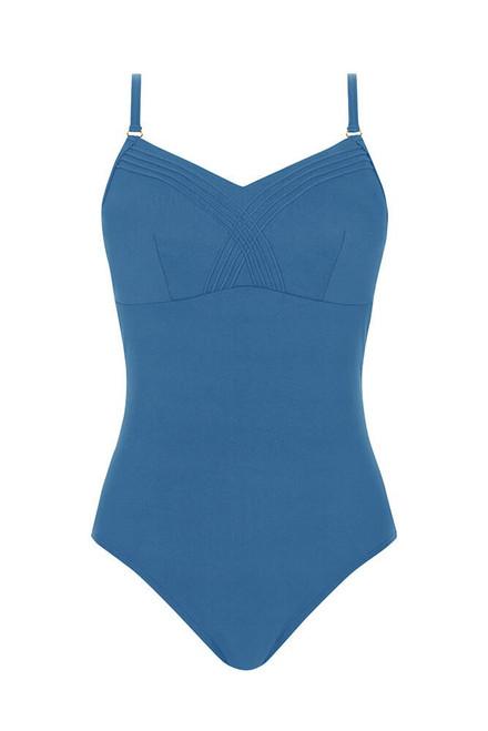 Amoena Zen Garden One-Piece Swimsuit - Twilight Blue   71443   4026275428017, 4026275428031, 4026275428086, 4026275428031,  4026275428093, 4026275428109