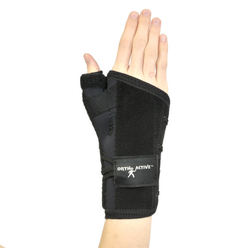 Ortho Active Coolcel Wrist Thumb Support - Short Thumb | 623417953549, 623417953532, 623417953525, 623417953556, 623417953518, 623417953594, 623417953587, 623417953570, 623417953600, 623417953563 | ORT-R3193ST