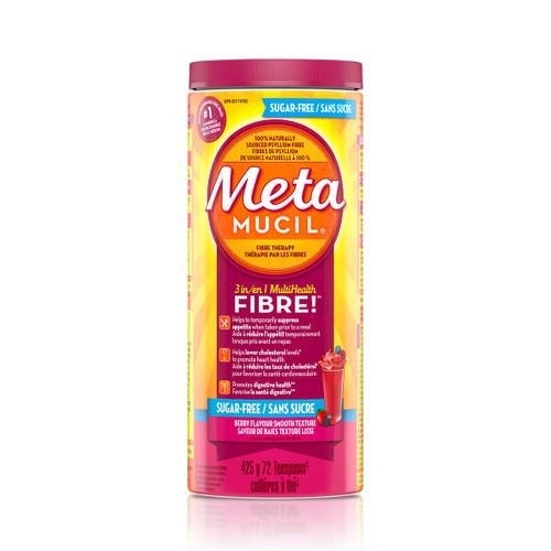 Metamucil 3 in 1 Multihealth Fibre Berry Flavour Smooth Texture Powder -  MML-1003