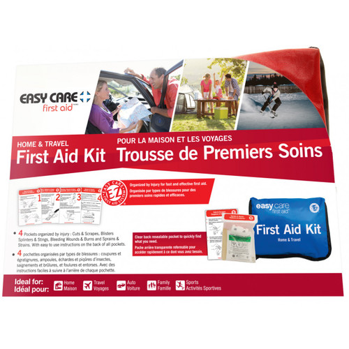 Easy Care First Aid Home and Travel First Aid Kit -  EAS-471999
