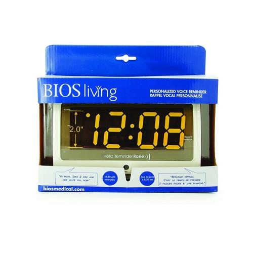 BIOS Living Personalized Voice Reminder -Rosie  Alarm Clock | BIO-LG604