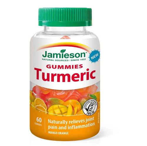 Jamieson Gummies Turmeric - Mango Orange 60 Gummies -  JM-1194-001