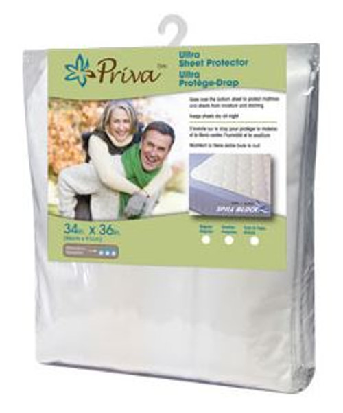"Priva Ultra Sheet Protector 34"" x 36"" - Handles   056156025572"