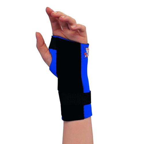 Champion Professional Neoprene Cock-Up Wrist Splint - Blue   C-304   0304   048503330439, 048503330422