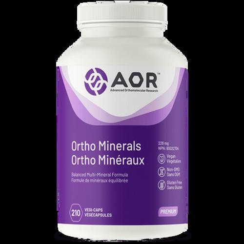 AOR Ortho Minerals 226mg 210 Vegi-Caps   624917040647