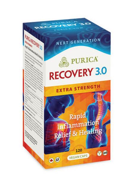 Purica Recovery 3.0 Extra Strength 120 Vegan Caps - Box | 815555002603