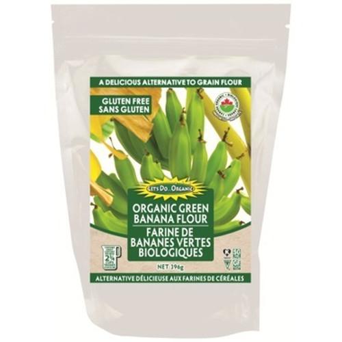 Let's Do...Organic Organic Green Banana Flour Gluten Free   043182015400