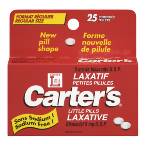 Carter's Little Pills 25 Tablets | 061700030254