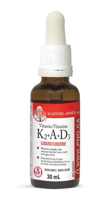 W. Gifford-Jones MD Vitamin K2+A+D3   628826005643