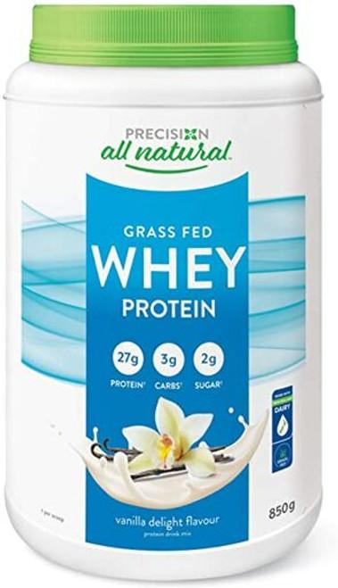 Precision All Natural Whey Protein French Vanilla Delight Flavour 850g   837229003952