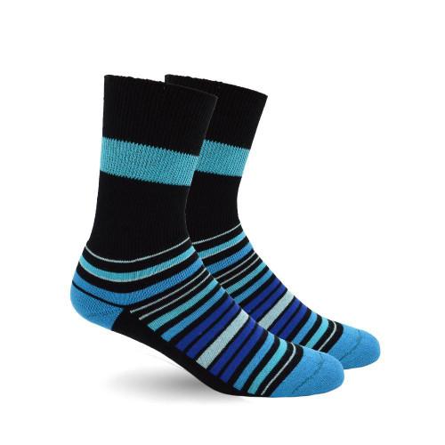 Dr. Segal's Diabetic Socks - Blue Stripes | 628322023745 , 628322023752 | D510C77
