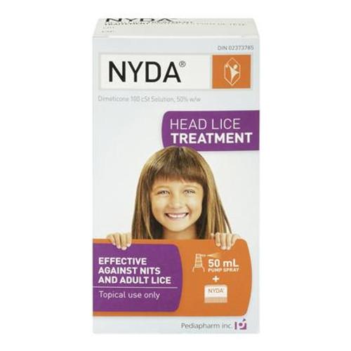 NYDA Head Lice Treatment - Front   4029125070527