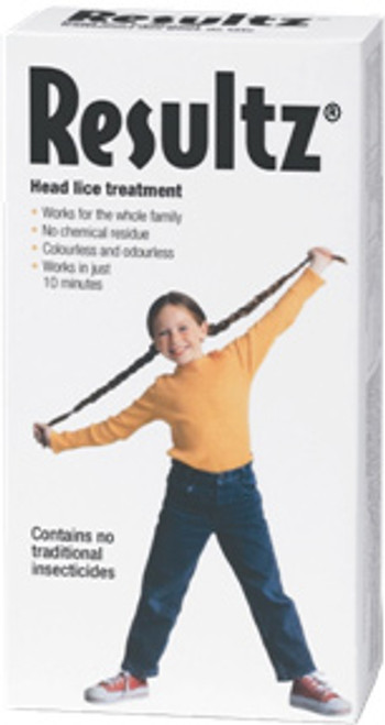 Resultz Head Lice Treatment - Packaging | 828925150132, 828925150149
