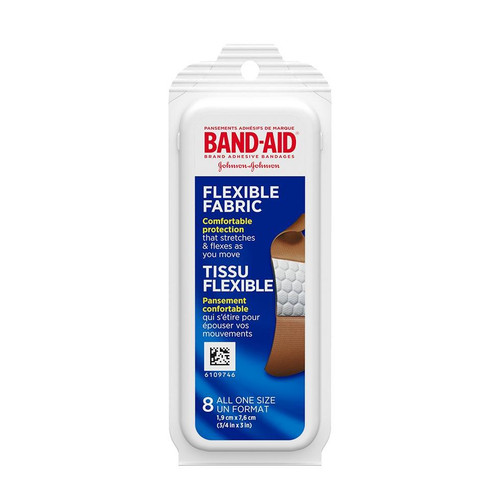 Johnson & Johnson Band-Aid Brand Adhesive Bandages 8 Pack | 381370047544
