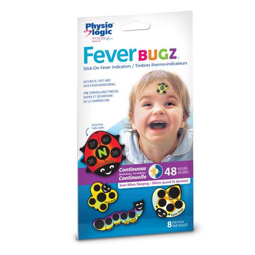 AMG Medical PhysioLogic Fever Bugz Stick-On Fever Indicator 8 pack |