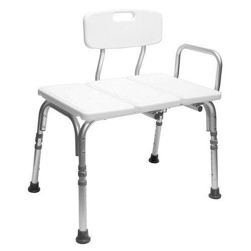 Carex Bathtub Transfer Bench with Reversible Back Seat | 023601021533 | FGB15300