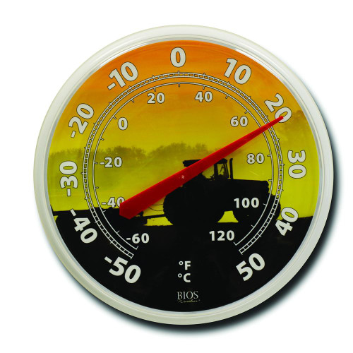 """BIOS Medical 12"""" Dial Tractor Thermometer 