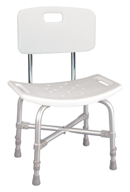 Drive Medical Deluxe Bariatric Shower Chair With Back -  DRI-12021KD-1