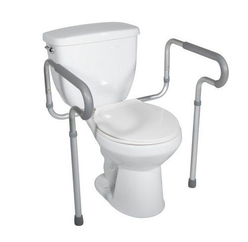 Drive Medical Toilet Safety Frame with Padded Arms - Product Profile   10822383246489