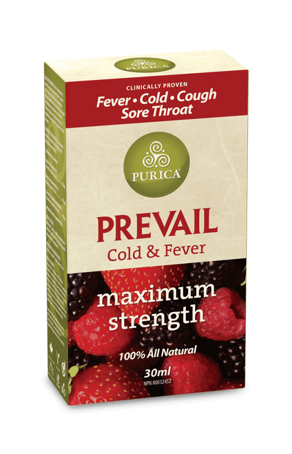 Purica Prevail Cold and Fever 30 ml   815555000712