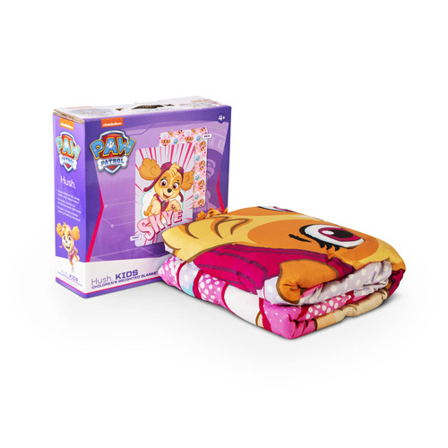 HUSH Paw Patrol Weighted Blanket - Skye (38X54 inches - 5lbs)