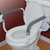 Carex Toilet Support Rail - FGB368CA   UPC