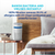 HoMedics TotalClean 5-in-1 Tower Small Room Air Purifier - 360 Degree HEPA-Type Filtration
