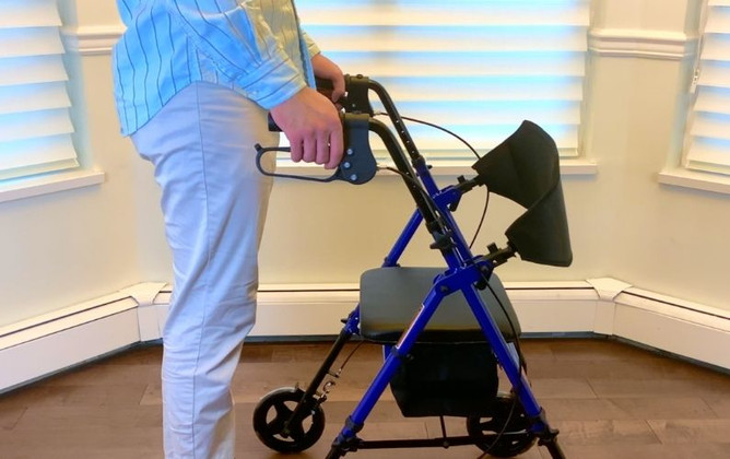 """How to Set Up Your MOBB Aluminum Folding Rollator - 8"""" Wheels"""
