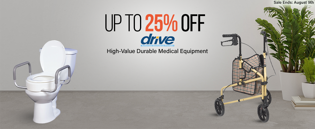 drive medical sale rollator toilet seat raiser