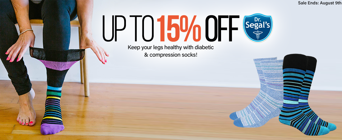 up to 15% off dr. segals
