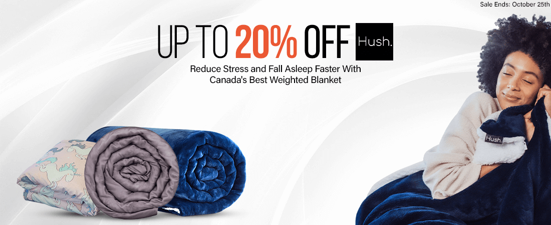 Hush Blankets: The Best Weighted Blanket in Canada Sale