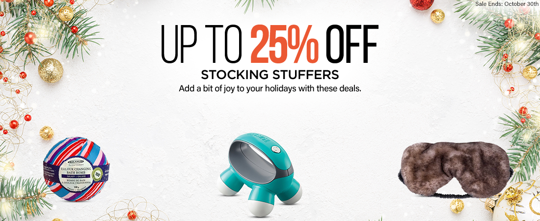 Up To 25% Off Stocking Stuffers Sale