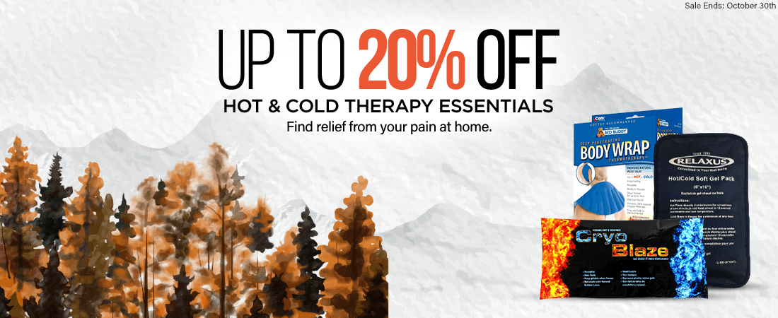 Up To 20% Off Hot & Cold Therapy Essentials