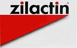 Zilactin and Zilactin B Logo