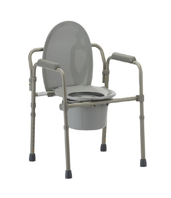 Mobb Folding Commode Chair Halo Healthcare