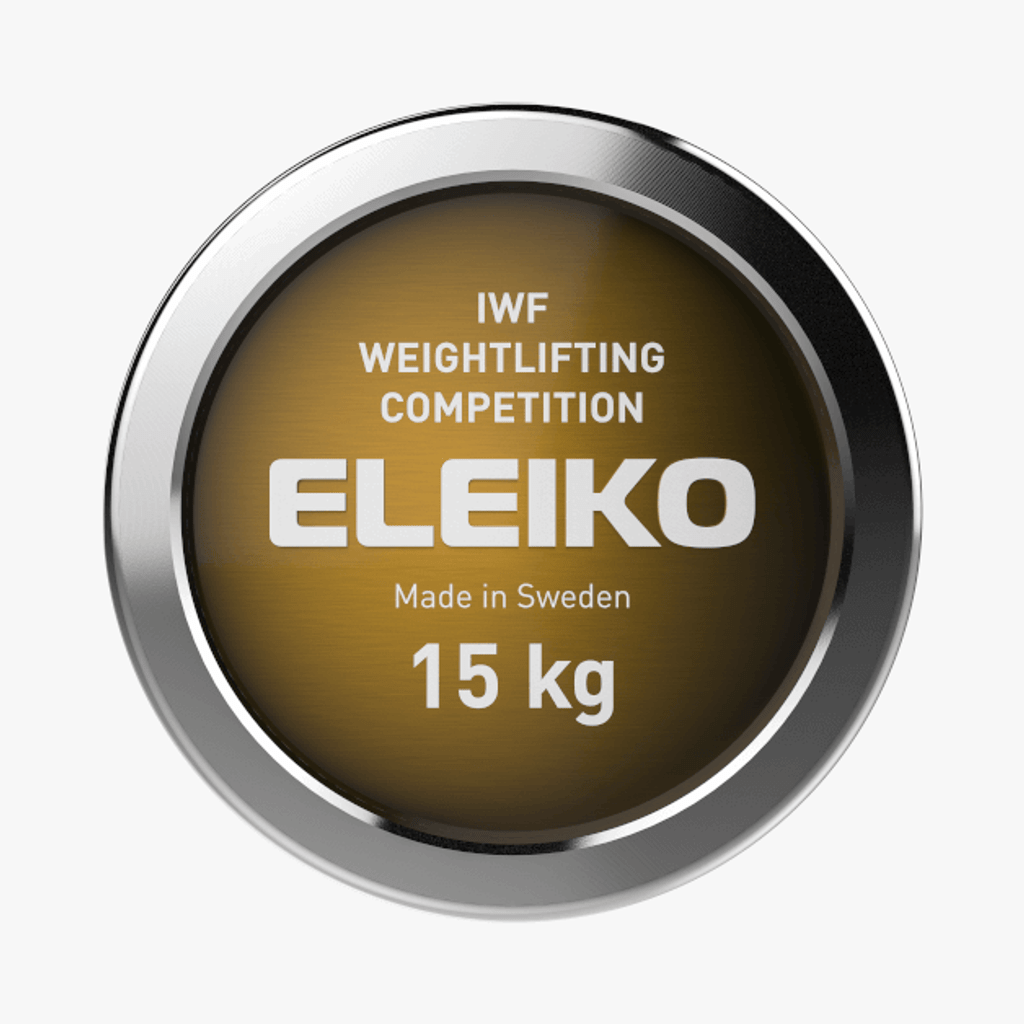 ELEIKO IWF WEIGHTLIFTING COMPETITION BAR - 15 KG, WOMEN (3060762)