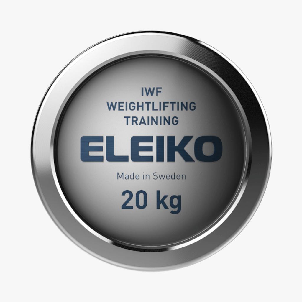 ELEIKO IWF WEIGHTLIFTING TRAINING BAR - 20 KG, MEN (3002551)