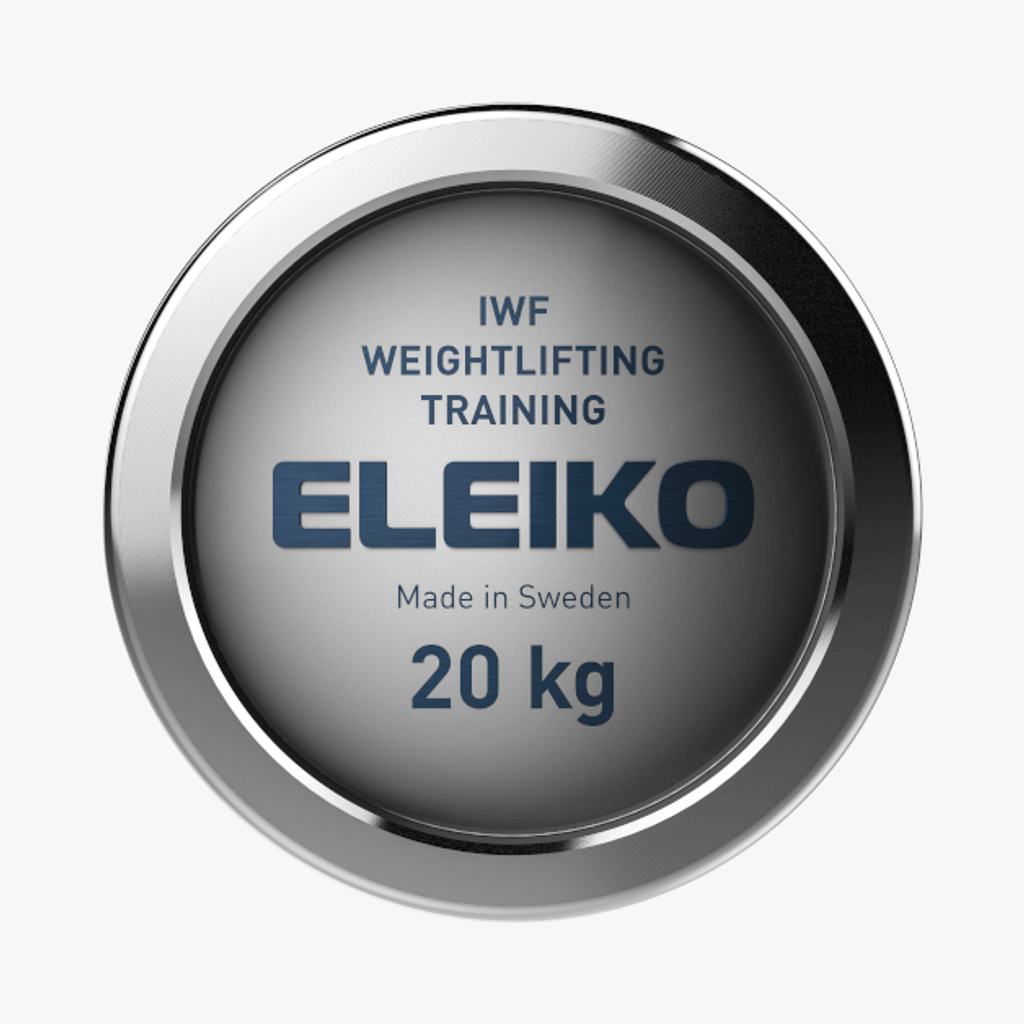 ELEIKO IWF WEIGHTLIFTING TRAINING BAR - 20 KG, MEN (3002551)