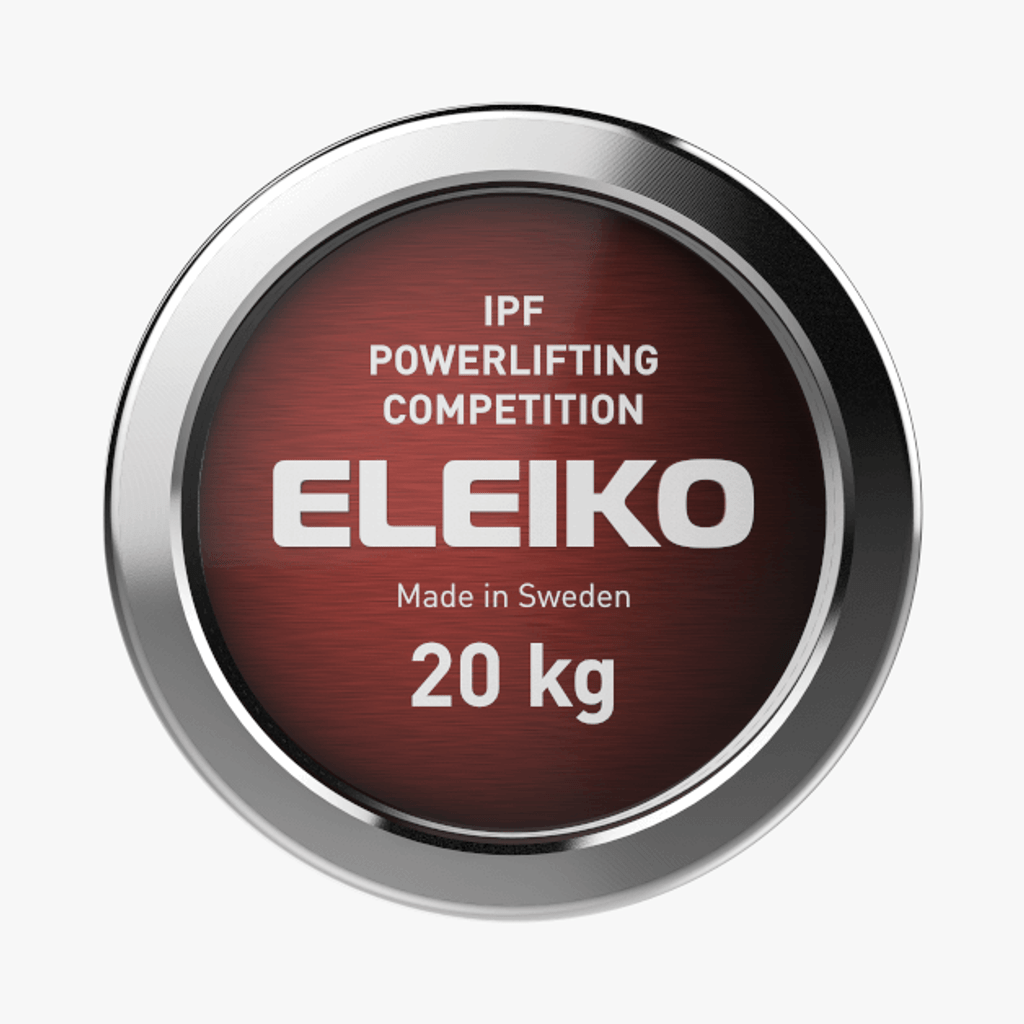 ELEIKO IPF POWERLIFTING COMPETITION BAR - 20 KG (3061173)