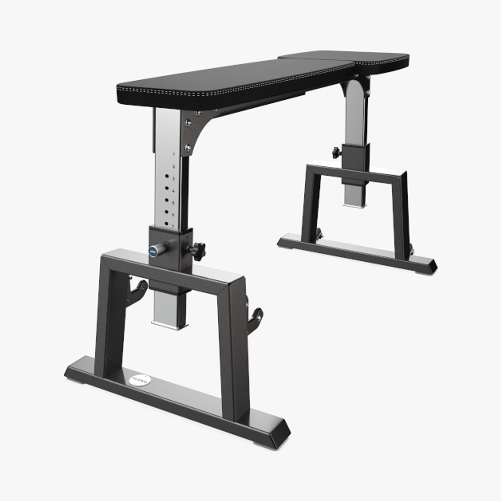 ELEIKO CLASSIC SEAL ROW BENCH - CHARCOAL/BLACK (3061762-060)