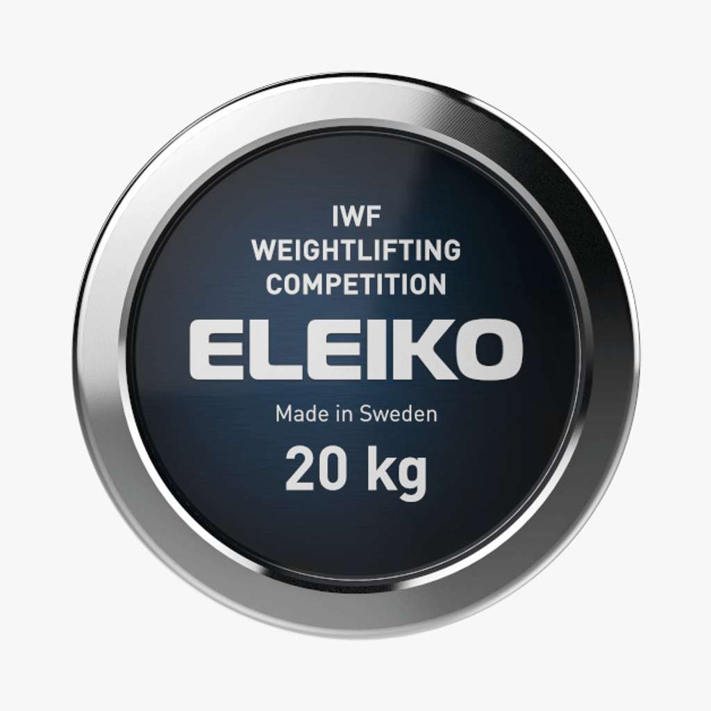 ELEIKO IWF WEIGHTLIFTING COMPETITION BAR - 20 KG, MEN (3060446)