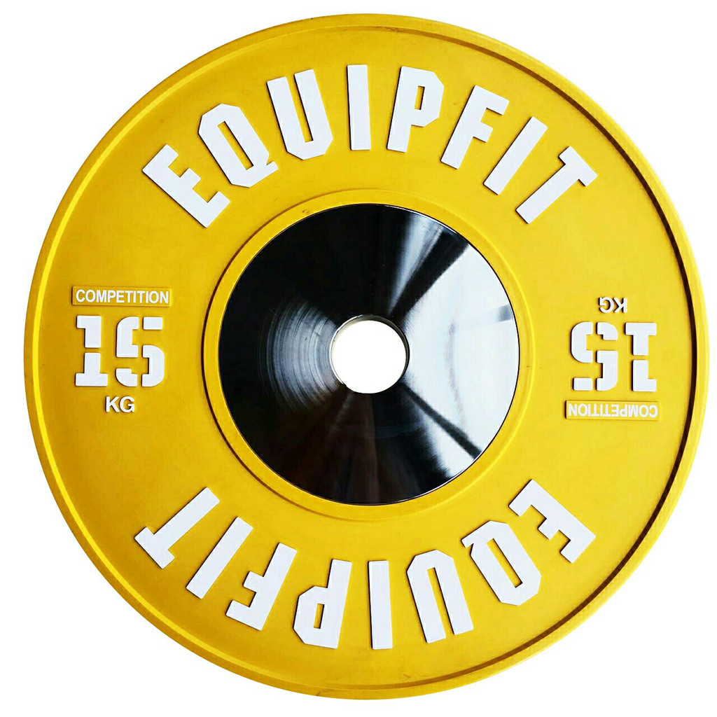 EQUIPFIT COMPETITION WEIGHTLIFTING BUMPER - 15KG
