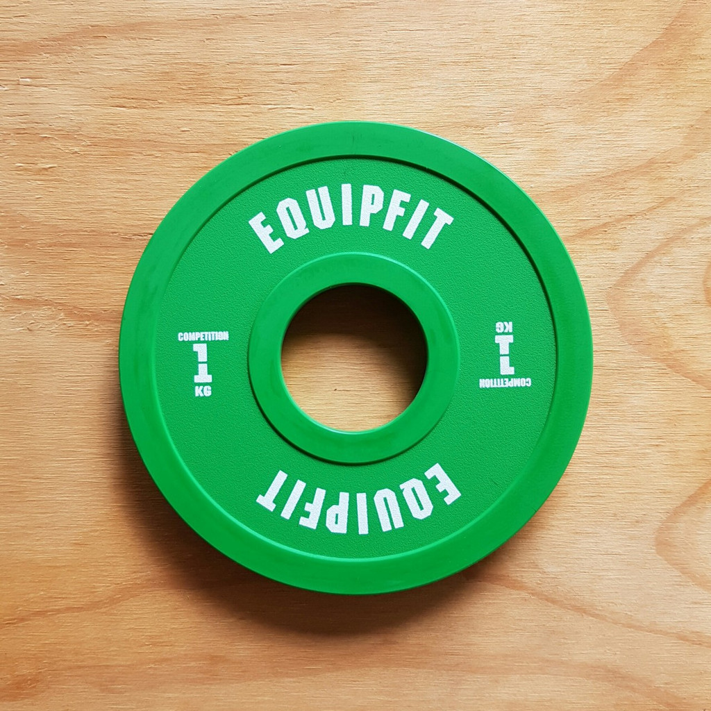 EQUIPFIT COMPETITION FRACTIONAL PLATE - 1KG