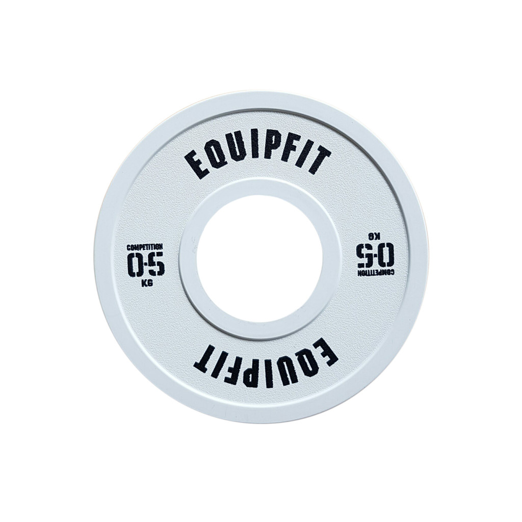 EQUIPFIT COMPETITION FRACTIONAL PLATE - 0.5KG