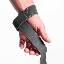 PULLING STRAPS, LEATHER, STRONG GREY (3000610970)